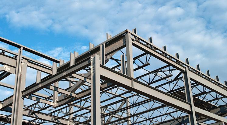 stalowa konstrukcja budynku